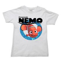 Camiseta Procurando Nemo Procurando Dory Dori Infantil 004