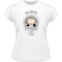 Baby Look South Park Monitor Do Corredor Cartman Camisa