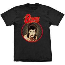 Camiseta David Bowie Diamond Dog Stamp