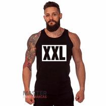 Camiseta Regata Xxl Hip Hop Personalizada 100% Algodão