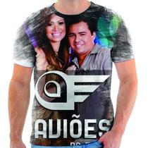 Camiseta Do Avioes Do Forro Musica Cantor Estampada 1