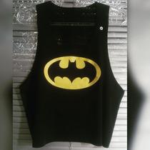 Cropped Batman - Camisaria Mammuth