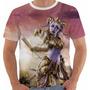 Camiseta Babylook Regata Game World Warcraft Yrel Wow Color