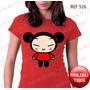 Baby Look Pucca Incríveis Minnie Mickey Camiseta Heróis