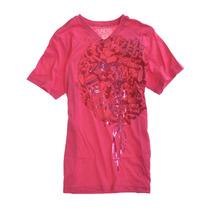Ecko Unltd. Masculino Erms T V-pescoço Gráfico T-camisa