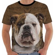 Camiseta Baby Look Regata Bulldog Pet Dog