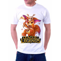 Camiseta Gnar Game League Of Legends