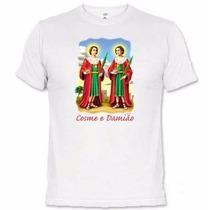 Camisetas Santos Católicos São Cosme E Damião 623