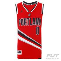 Regata Adidas Nba Portland Trail Blazers Third 2016 0 Lillar