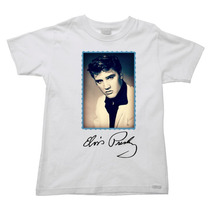 Camiseta Infantil Elvis Presley - Do 2 Ao 16 - 09