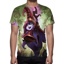 Camisa, Camiseta Game League Of Legends - Lulu
