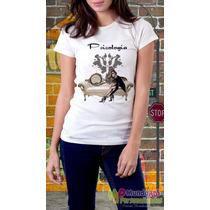 Camiseta Personalizada Profissões Psicologia