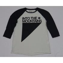 Camiseta Osklen Manga 3/4 Into The Montains Original Tam: P