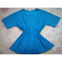 Blusa Feminina Moda Fashion Azul Royal Tam M