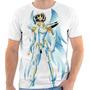 Camiseta - Camisa Cavaleiros Do Zodíaco Seya Pegasus Divino