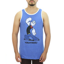 Da Disney Popeye Curls 4 Blue Meninas T-shirt Tamanhos Novo