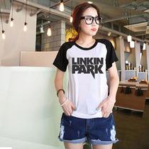 T-shirt Bandas De Rock - Linkin Park (baby Look Raglan)