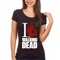 Camiseta Feminina The Walking Dead Camiseta Seriado
