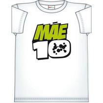 Camiseta Blusa Tshirt Branca Ben 10 Mãe 10 Tam.m