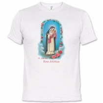 Camisetas Católicas Nossa Senhora Da Rosa Mística