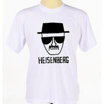 Camisa Camiseta Estampada Seriado Breaking Bad Manga Curta