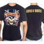Camiseta De Banda - Guns N Roses - Caveira