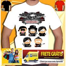 Camisa Avenged Seven Fold South Park - Camiseta Bandas Rock