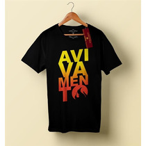 Camiseta Camisa Blusa Masculino Evangélica, Avivamento