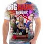 Camiseta Da Serie The Big Bang Theory Bazinga 12
