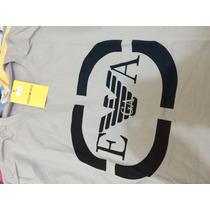 Camiseta De Marca Empório Armani Frete Grátis Envio Imediato