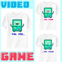 Camiseta Tal Pai ... Tal Filho (a) - Video Game