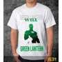 Camiseta Green Lantern Camisa Games Herois Desenhos Series