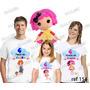 Camiseta Lalaloopsy Boneca Personalizada Aniversário 3 Uni