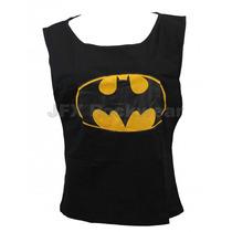 Regata Feminina Gola Canoa Herois Nerd Batman