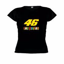 Camiseta Baby Look 46 The Doctor - Valentino Rossi