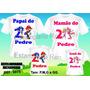 4 Camisetas Personalizada Aniversario Sonic E Mario