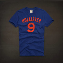 Kit Com 10 Camisetas Hollister Atacado
