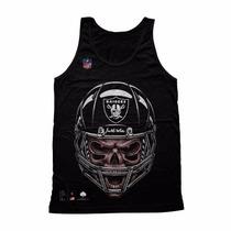 Camisa Camiseta Blusa Oakland Raiders Nfl Swag