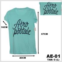 Camiseta Feminina Aeropostale Original Importada Vários Tam