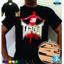 Camiseta Tapout Mma Animal Justiceiro Muay Thai Jiujitsu