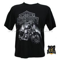 Camisa De Manga Curta Motociclismo Harley Davidson Sportage
