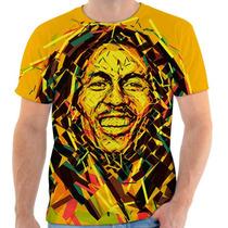 Camisetas Camisa Blusa Personalizada Bob Marley