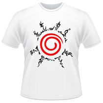Camiseta Naruto Shippuden Selo Kyuubi Anime Camisa