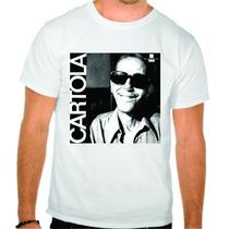 Camisa Personalizada De Algodao Samba Raiz Cartola Banda Alg