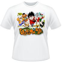 Camiseta Dragon Ball Anime Desenho Camisa #3