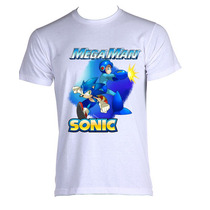 Camiseta Megaman Rock Man X 004