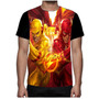 Camisa Camiseta The Flash Super Herói Dc Comics