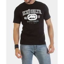 Camiseta Masculina Ecko Unltd Preta Estilo Abercrombie Polo
