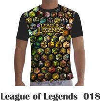 Camisa Camiseta Games League Of Legends Lol 018