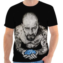 Camisa, Camiseta Breaking Bad - Walter Withe Tattoo - Serie